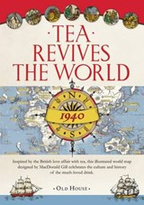 Gill's Tea Revives the World Map, | Macdonald Gill |