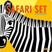 Safari set - book + 6 card sheets