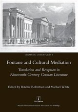 Fontaine and Cultural Mediation | Ritchie Robertson |