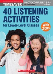 40 Listening Activities for Lower-Level Classes - Book with