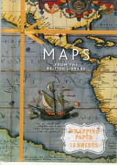 Maps: from the british library (12 sheets of paper)