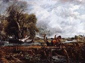 John Constable. The Leaping Horse