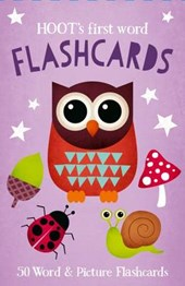 Hoot's First Word Flash Cards