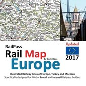 RailPass RailMap Europe | Caty Ross |