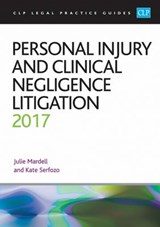 Personal Injury and Clinical Negligence Litigation | Julie Mardell |