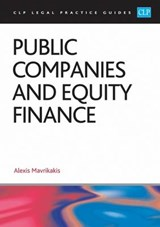 Public Companies and Equity Finance | Alexis Mavrikakis |