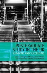 Postgraduate Study in the UK - Surviving and Succeeding | Christopher McMaster |