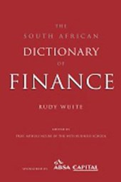 South African Dictionary of Finance