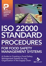 ISO 22000 Standard Procedures for Food Safety Management Systems |  |