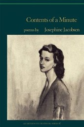 Contents of a Minute | Josephine Jacobsen |