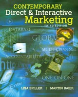 Contemporary Direct and Interactive Marketing | Spiller, Lisa D. ; Baier, Martin |