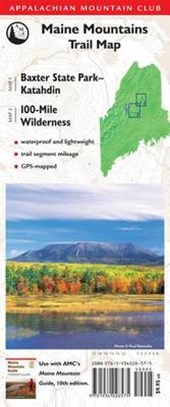 Maine Mountains Trail Map | Appalachian Mountain Club |