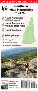 Appalachian Mountain Club Southern New Hampshire Trail Map | auteur onbekend |