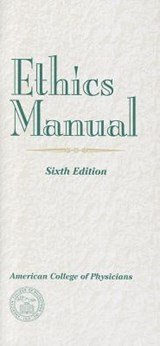 Ethics Manual | Lois Snyder |