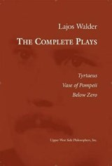The Complete Plays | Lajos Walder |