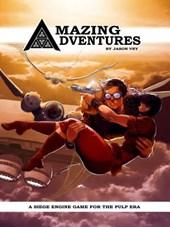 Amazing Adventures (Hardback, 2nd Printing, Pulp Era RPG)