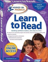 Hooked on Phonics Learn to Read Level 4, Kindergarten Ages 4-6