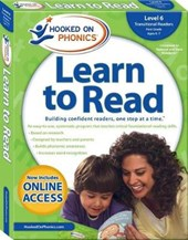 Hooked on Phonics Learn to Read Level 6, First Grade Ages 6-7