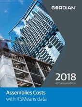 Assemblies Costs with RSMeans Data 2018