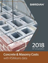 Concrete & Masonry Costs with RSMeans Data 2018