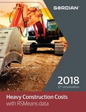 Heavy Construction Costs with RSMeans Data 2018