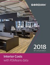 Interior Costs with RSmeans Data