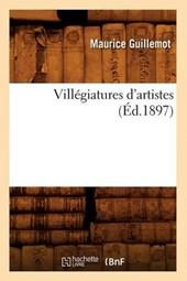 Villégiatures d'Artistes (Éd.1897)
