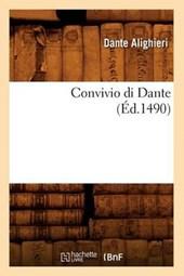 Convivio Di Dante (Ed.1490)
