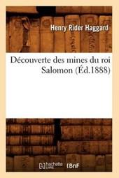 Découverte Des Mines Du Roi Salomon (Éd.1888)