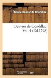 Oeuvres de Condillac. Vol. 4 (Éd.1798)