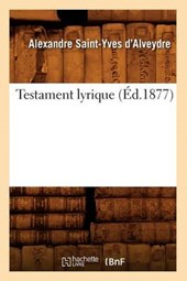 Testament Lyrique (Éd.1877)