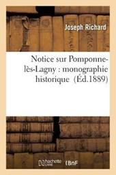 Notice Sur Pomponne-Les-Lagny
