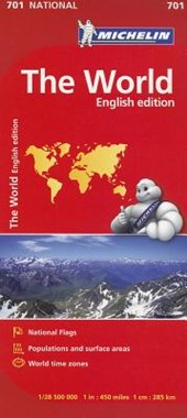 Michelin the World National Map