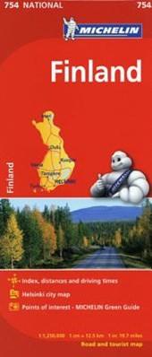 Michelin Finland Map