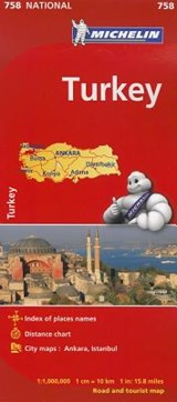 Michelin Turkey National Map | Michelin |