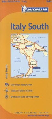 Michelin South Italy /Michelin Italie Sud