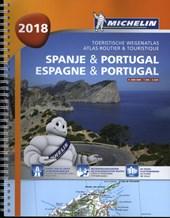 Atlas Michelin Spanje & Portugal 2018