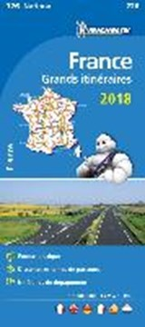 France Route Planning 2018 National Map 726 | auteur onbekend |