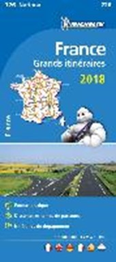 France Route Planning 2018 National Map 726