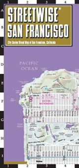 Streetwise San Francisco Map - Laminated City Center Street Map of San Francisco, California | Michelin |