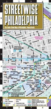 Streetwise Philadelphia Map - Laminated City Center Street Map of Philadelphia, Pennsylvania