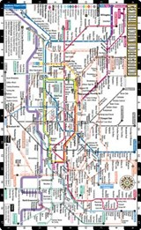 Streetwise Central London Underground Map | auteur onbekend |