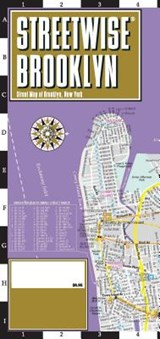 Streetwise Brooklyn Map - Laminated City Center Street Map of Brooklyn, New York | Michelin |
