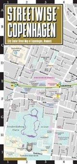 Streetwise Copenhagen Map - Laminated City Center Street Map of Copenhagen, Denmark | Michelin |
