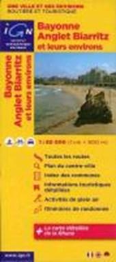 Bayonne Anglet Biarritz und Umgebung 1 : 80 000 Freizeitkarte
