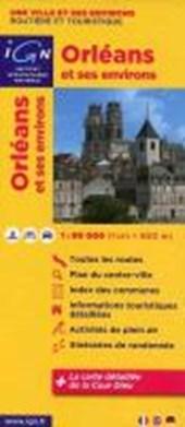 Orleans mit Umgebung 1 : 80 000 Freizeitkarte