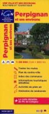 Perpignan et ses environs 1 : 80 000 Freizeitkarte