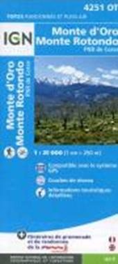 Korsika Monte d'Oro - Monte Rotondo