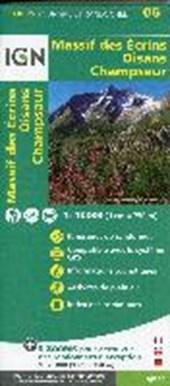 Oisans - Champsaur - Massif des Ecrins 1 :