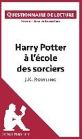 Questionnaire de lecture : Harry Potter à l'école des sorciers de J. K. Rowling